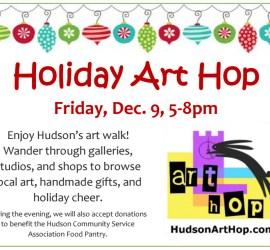 2016 Holiday Art Hop, Art Walk Hudson OH