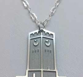 Cynde Hujarski, Hudson Clocktower Necklace
