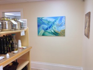 Art by Eva Volf at Olive My Heart, Hudson, OH