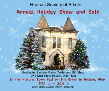 Hudson Society of Artists Holiday Show