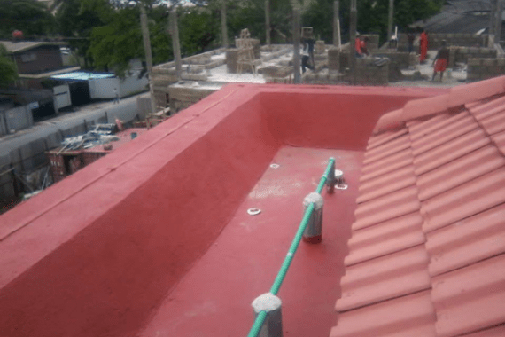 Waterproofing of Roof Terrace Using New Coat4