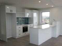 New kitchen - Dalmeny house