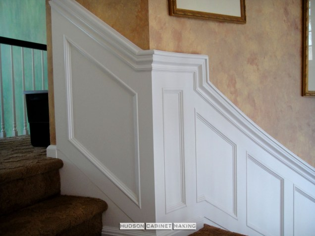 Staircase Wainscot Return