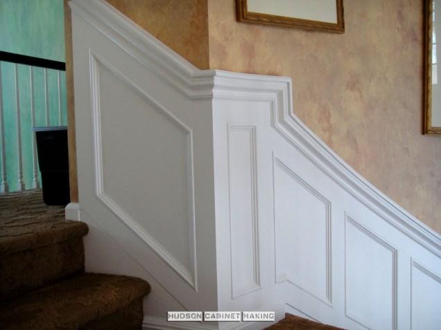 Staircase Wainscot Return