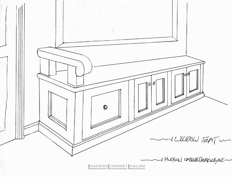 initial concept bench sear
