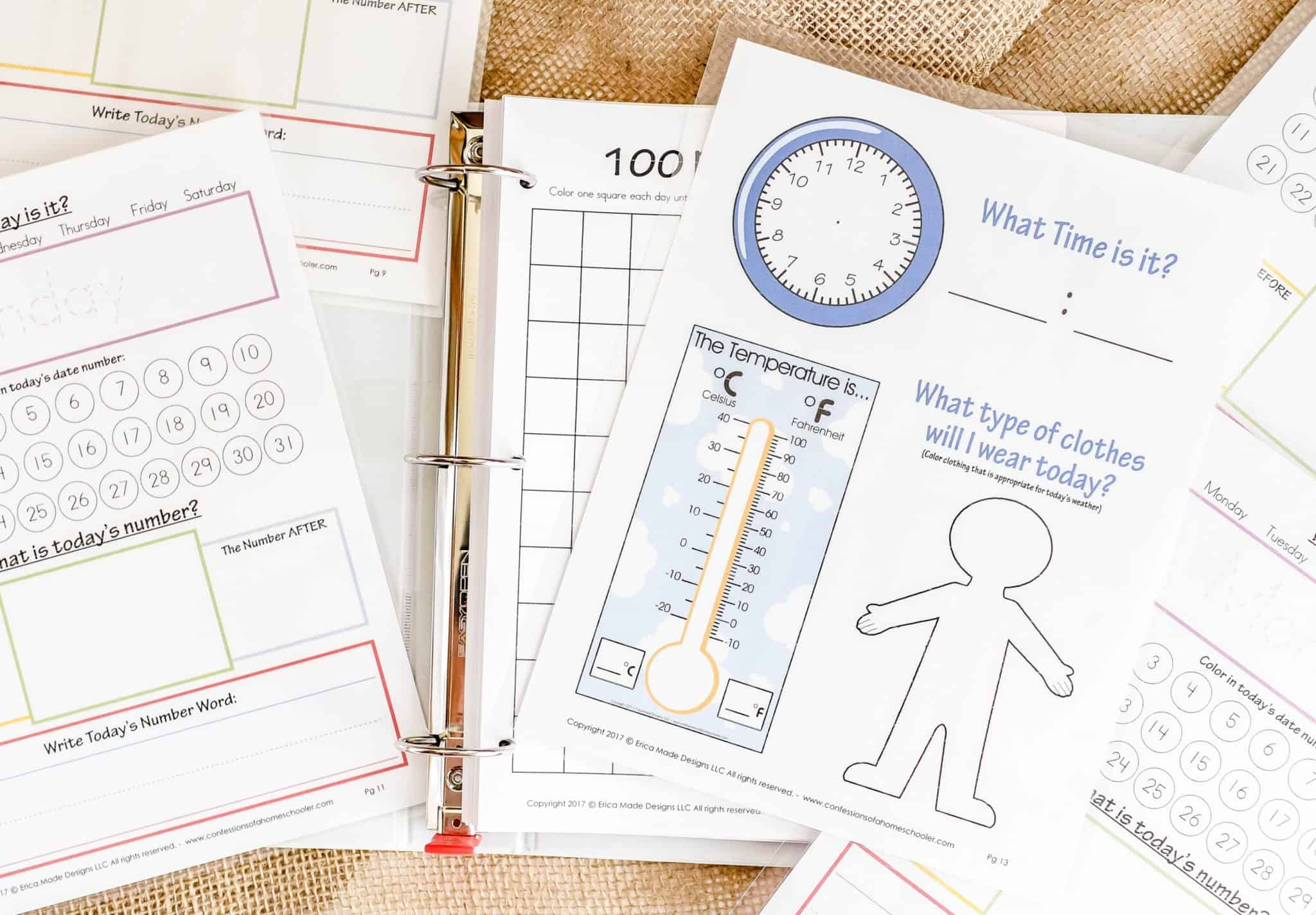 Kindergarten Amp Preschool Worksheets