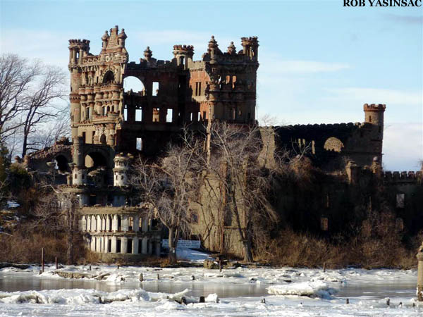 Hudson Valley Ruins Bannermans Castle Collapse December 2009