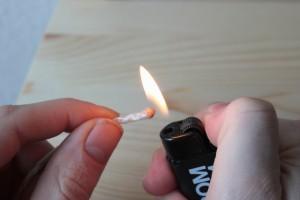 quemar la pita - Huerto de Urbano