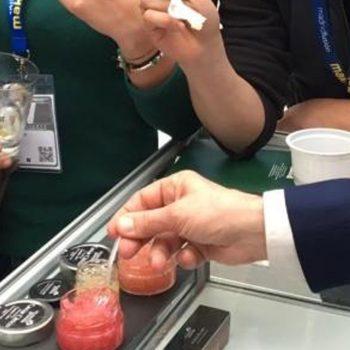 Caviar cítrico fresco cultivado en las tierras de Elche, directo a Madrid Fusión