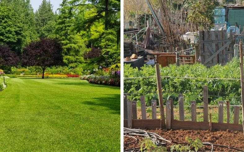 huerto urbano o jardin