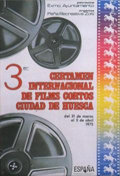 3ª edición - Año 1975 Foto: Jalper - Diseño: Dpto. Prensa FICH
