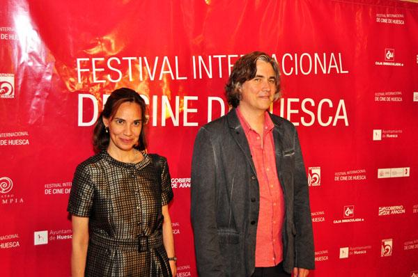 Daniela Michel y Jim Ramey