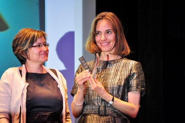 Daniela Michel, director of the Morelia International Film Festival (Mexico), Award Pepe Escriche