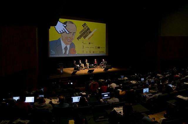 XVI Congreso Periodismo Digital / 13/3/15 / Foto: Álvaro Calvo
