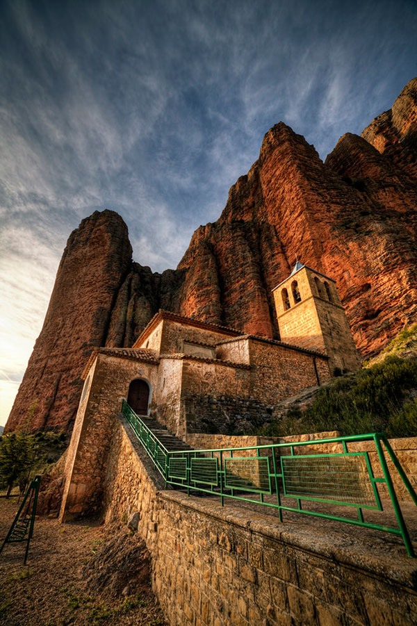 Mallos de Riglos de Sylvain Sangla (https://www.flickr.com/photos/atreyu64/)