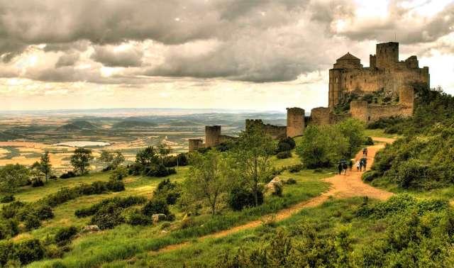Castillo de Loarre de https://www.flickr.com/photos/25533361@N00/