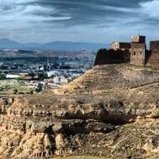 Castillo de Monzón de https://www.flickr.com/photos/53579128@N04/