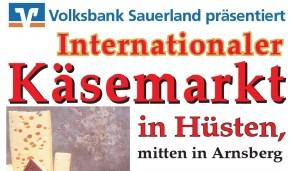 Sauerländer Käsemarkt 2020 in Hüsten @ Marktplatz Hüsten, direkt vor der St. Petri-Kiche | Arnsberg | Nordrhein-Westfalen | Deutschland