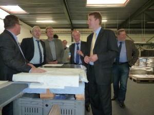 Foto des CDU-Besuchs bei MWM