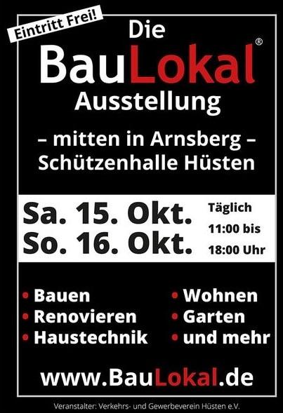 Plakat Baulokal