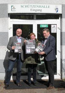 """Der Verkehrs- und Gewerbeverein Hüsten präsentiert das Plakat zur """"Ausstellung Baulokal"""""""