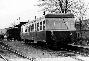 Bahnhof Hachen am 23. Februar 1967