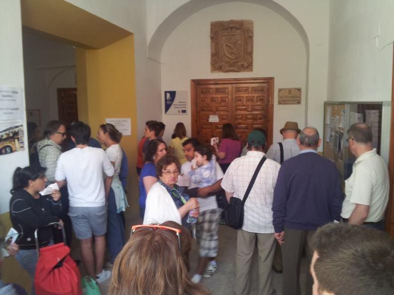 Centenares de turistas fueron atendidos en la Oficina de Turismo del Ayuntamiento de Huete