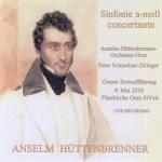 cd-cover - sinfonie concertante a-moll - grazer erstauffhrung
