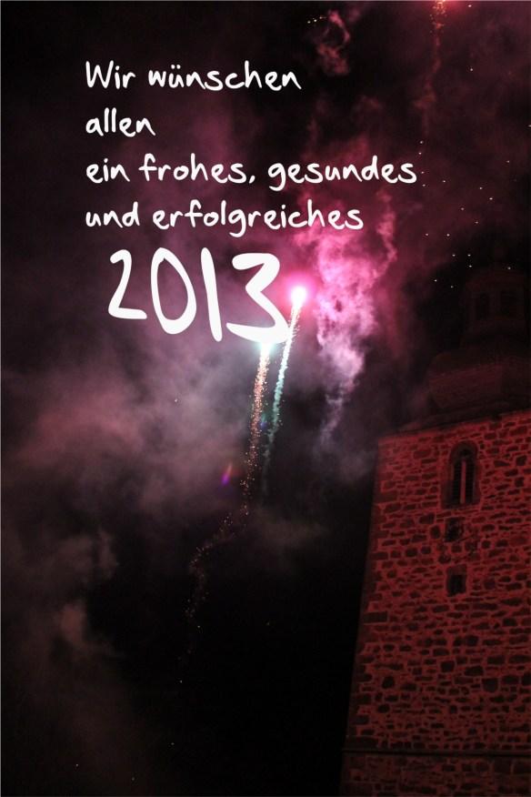 Grußkarte neujahr