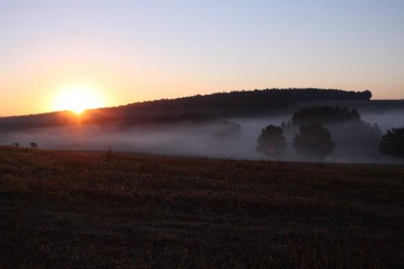 Sonnenaufgang bei Holzheim 2064
