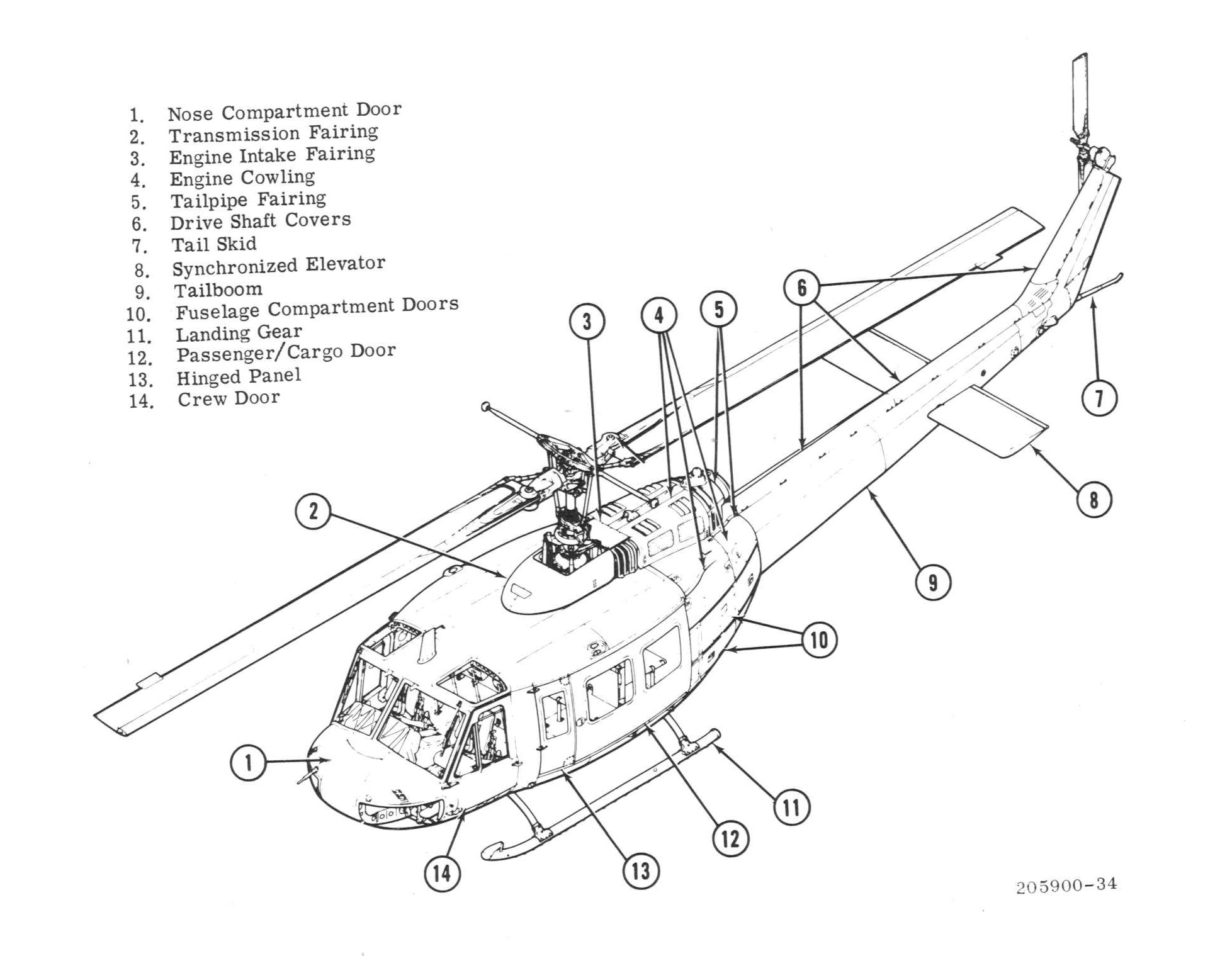 Bell Model 205a 1 Image Downloads
