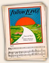 Follow Long! sheet music
