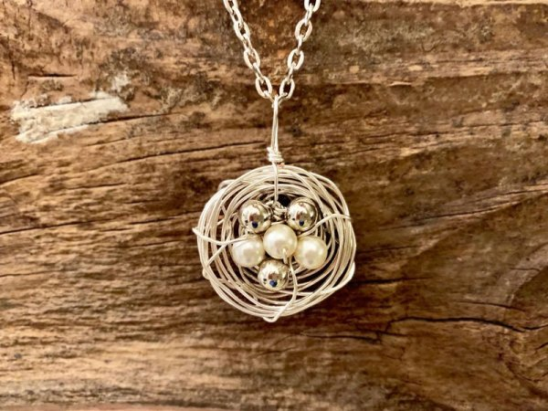Blooming Birds Nest Necklace