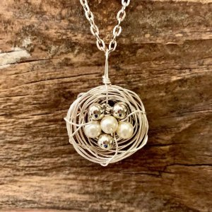 Blooming Bird Nest Necklace