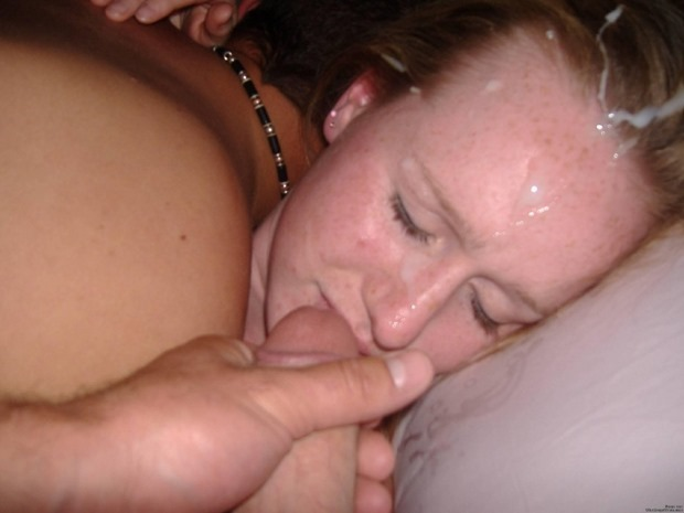 cum slut shot by huge cock