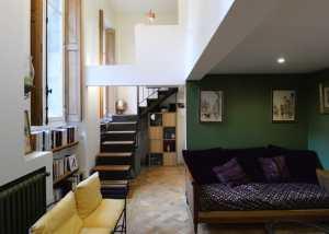 Rénovation d'un appartement haussmanien avec création de mezzanine 3