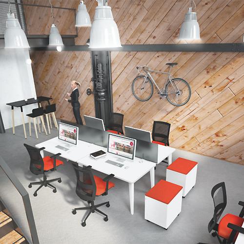 Mobilier professionnel 4LINE pour l'aménagement de bureaux