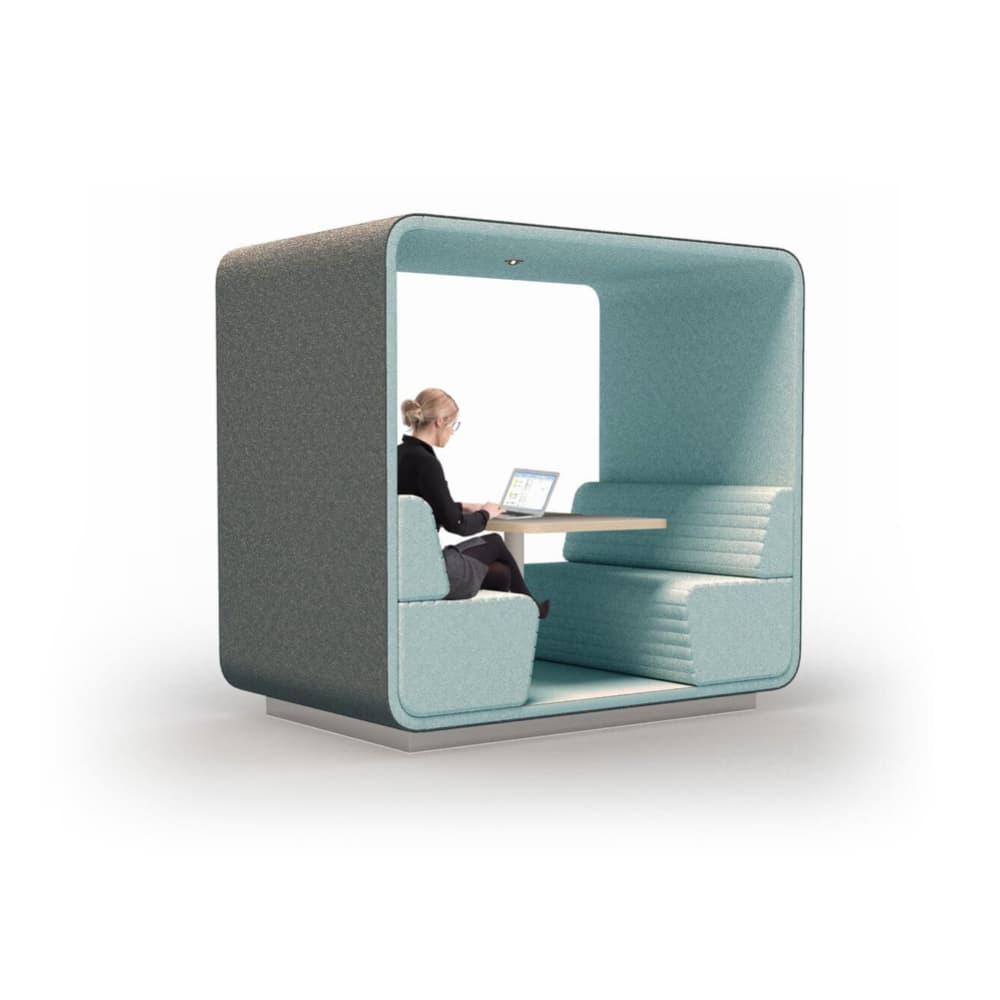 Alcoves et box pour bureaux