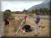 Field gravity measurements