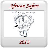 Safari 2013 - Nairobi to Cape Town