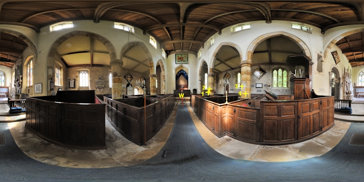 St Mary's Easton Neston, Right