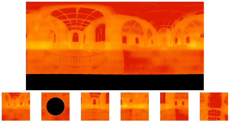 testo Equirectangular and Cube Images