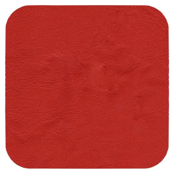 matt red leather