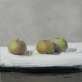 "<h5>Dessert</h5><p>Oil on canvas, 15 ¾ x 15 ¾"" (40 x 40cm)</p>"