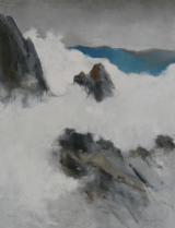 """<h5>Rocks</h5><p>Oil on canvas, 45 x 35"""" (114 ¼ x 89cm)</p>"""
