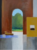 """<h5>Recamier</h5><p>Oil on canvas, 45 x 35"""" (114 ¼ x 89cm)</p>"""