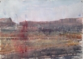 "<h5>Avaria</h5><p>Watercolor on paper, 29"" x 41"" (73.5 x 104cm)</p>"