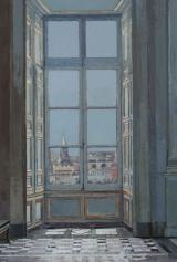"""<h5>La Conciergerie</h5><p>Oil on Canvas. 59"""" x 40"""" (150 x 101.5cm)</p>"""