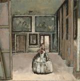 "<h5>Menines</h5><p>Oil on Canvas. 20"" x 20"" (51 x 51cm)</p>"
