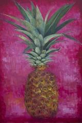 """<h5>Pineapple, Pineapple, Pineapple</h5><p>Oil on canvas, 44"""" x 30"""" (111.7 x 76.2cm)</p>"""